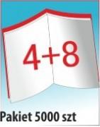 Katalog A4, 12 stron, zszywanie po dłuższym boku, nakład 5000 szt