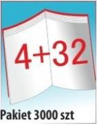 Katalog A4, 36 stron, zszywanie po dłuższym boku, nakład 3000 szt